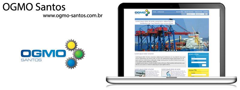 Website Institucional : OGMO de Santos