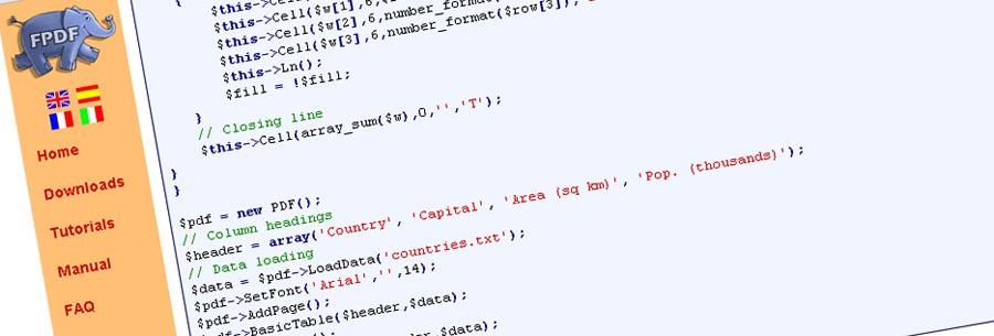 Relatórios em PDF com PHP usando a classe FPDF :: Henrique